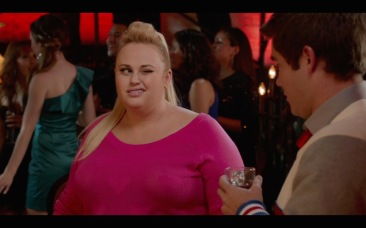 Rebel Wilson as Fat Amy.