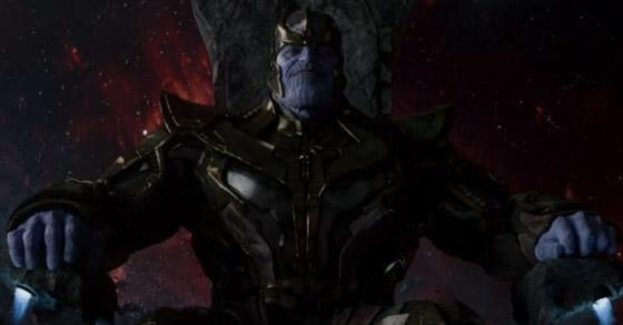 Josh Brolin as Thanos in 'Guardians of the Galaxy.'