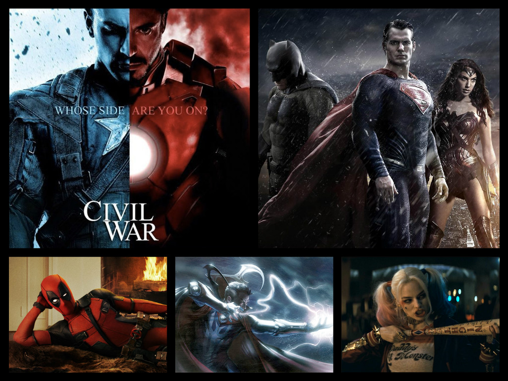 How 2016 Will Revitalize Superhero Movies