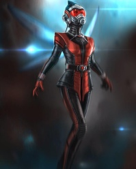 Concept art developed for 'Ant-Man'.
