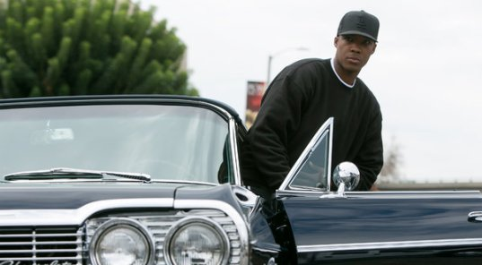 Corey Hawkins as Dr. Dre in 'Straight Outta Compton.'
