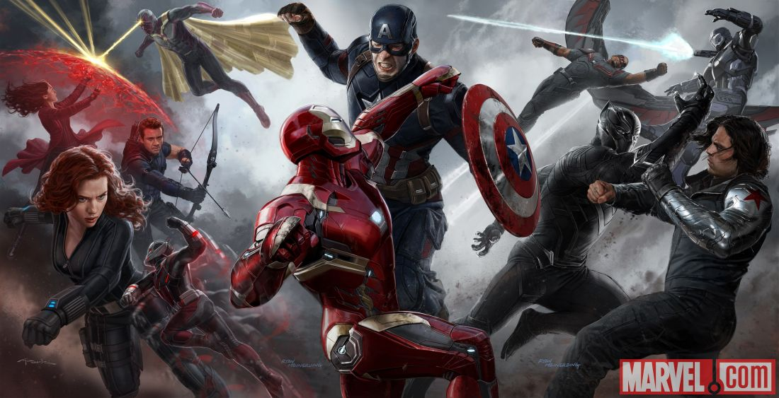 Captain America battle over the issue of government overreach.