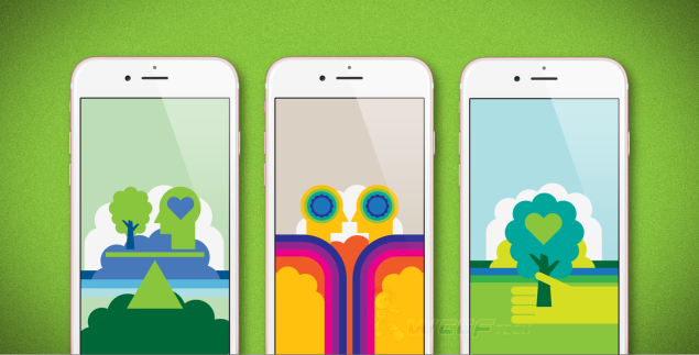 Using Apple's Rener program will give you access to these exclusive wallpapers.
