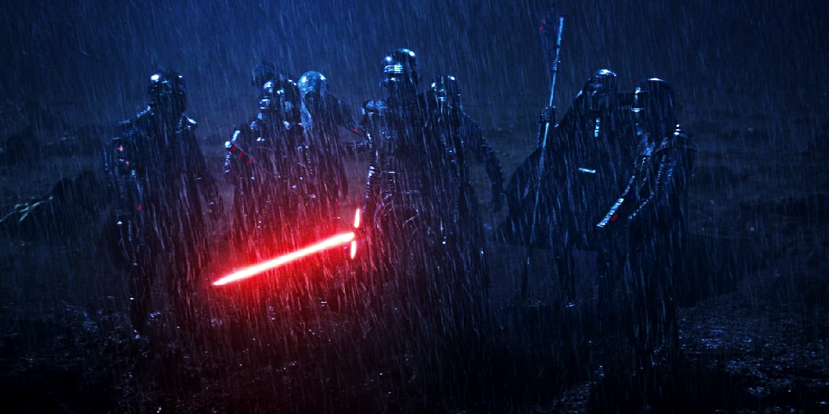 The Knights of Ren decimating the new Jedi is a huge shift in the Force.